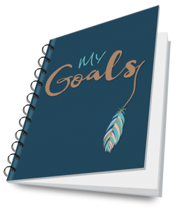 image of creative goals journal
